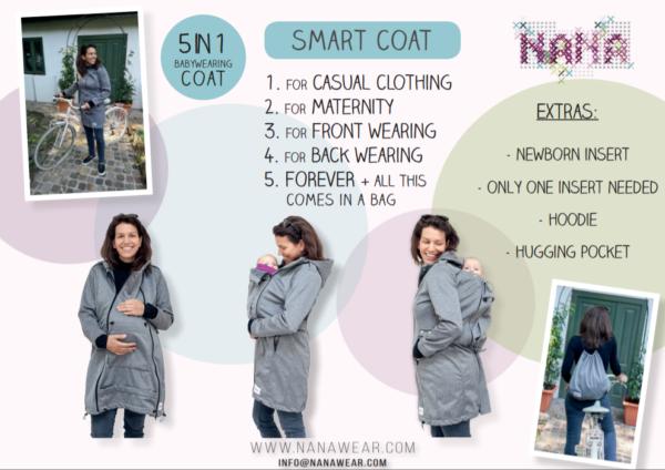 NANA Softshell Smart coat informatie