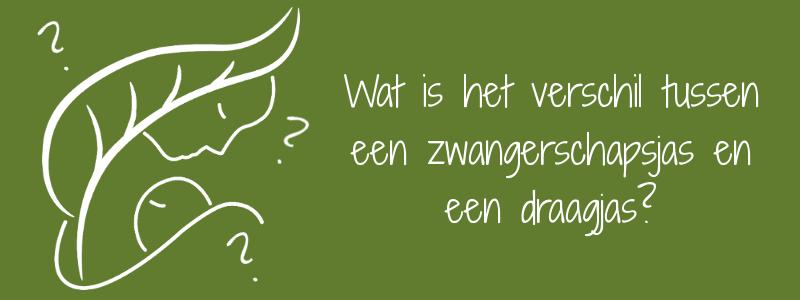 Wat is het verschil tussen een zwangerschapsjas en een draagjas? mawaho.nl