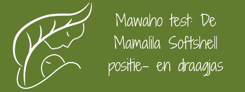 Review Mamalila softshell positie- en draagjas mawaho.nl