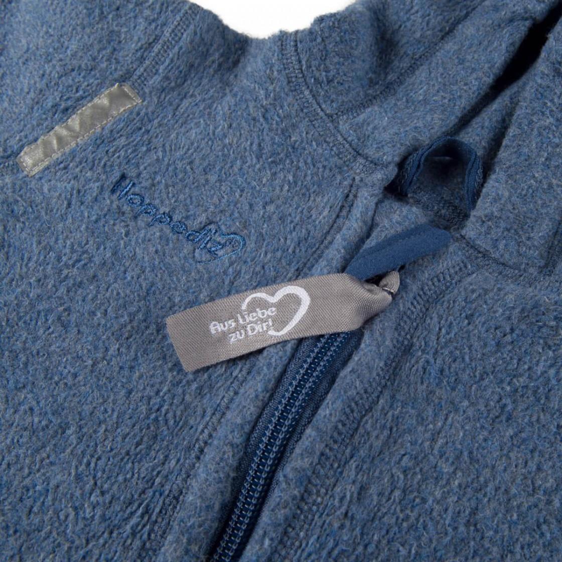 Hoppediz fleece organic cotton onesie mawaho.nl