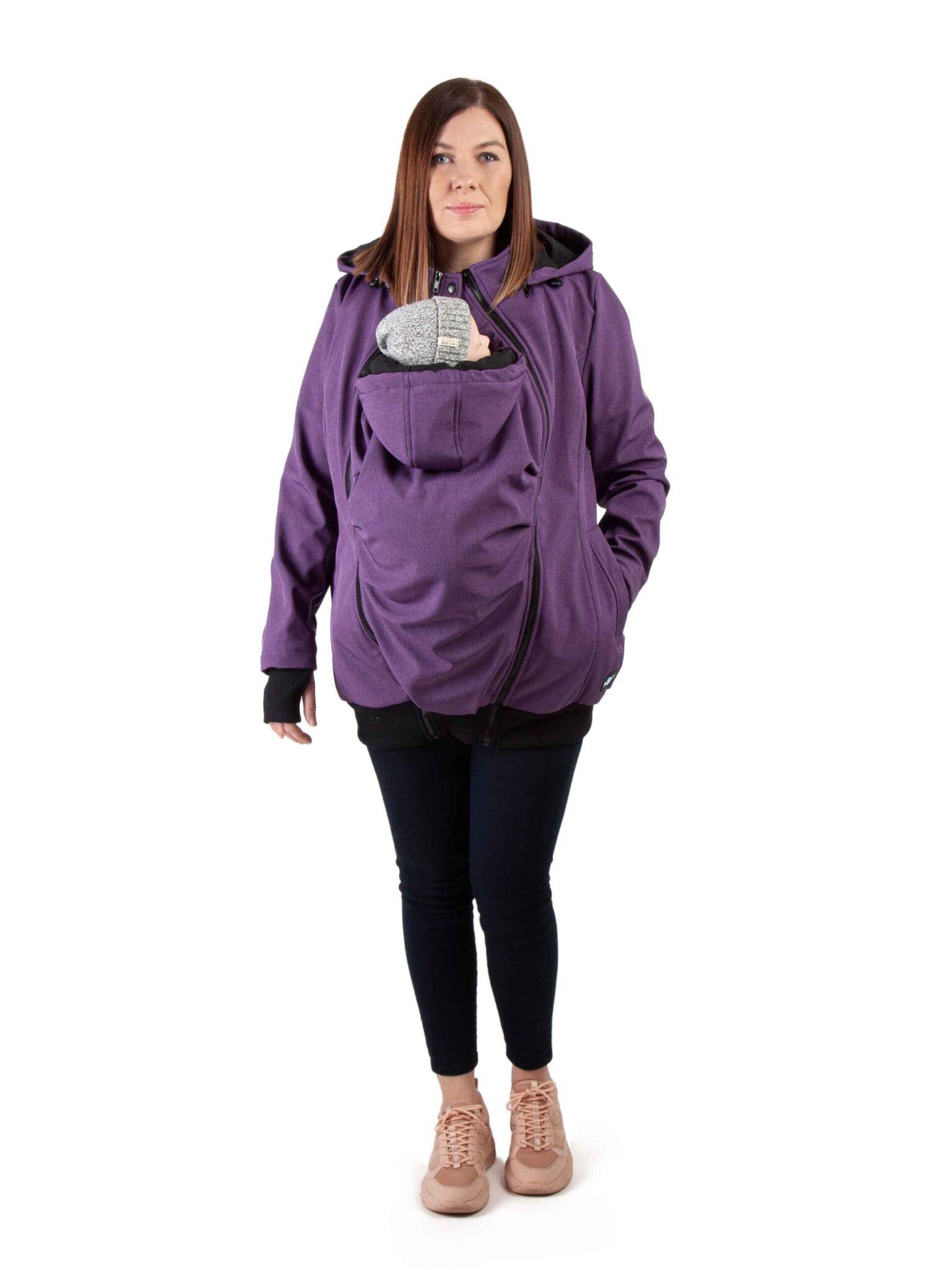 Fun2bemum Everest Purple Melange mawaho.nl