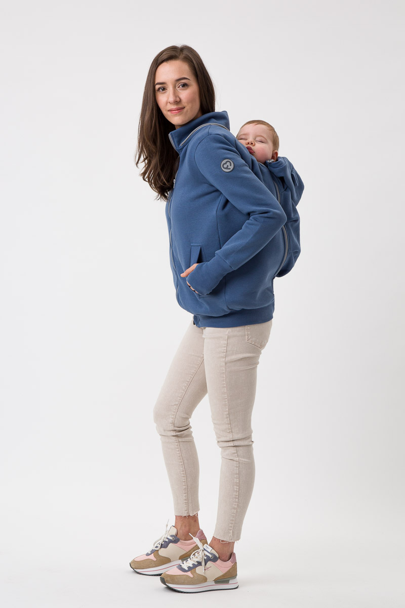 Fun2bemum Pola positie- en draagvest Jeans